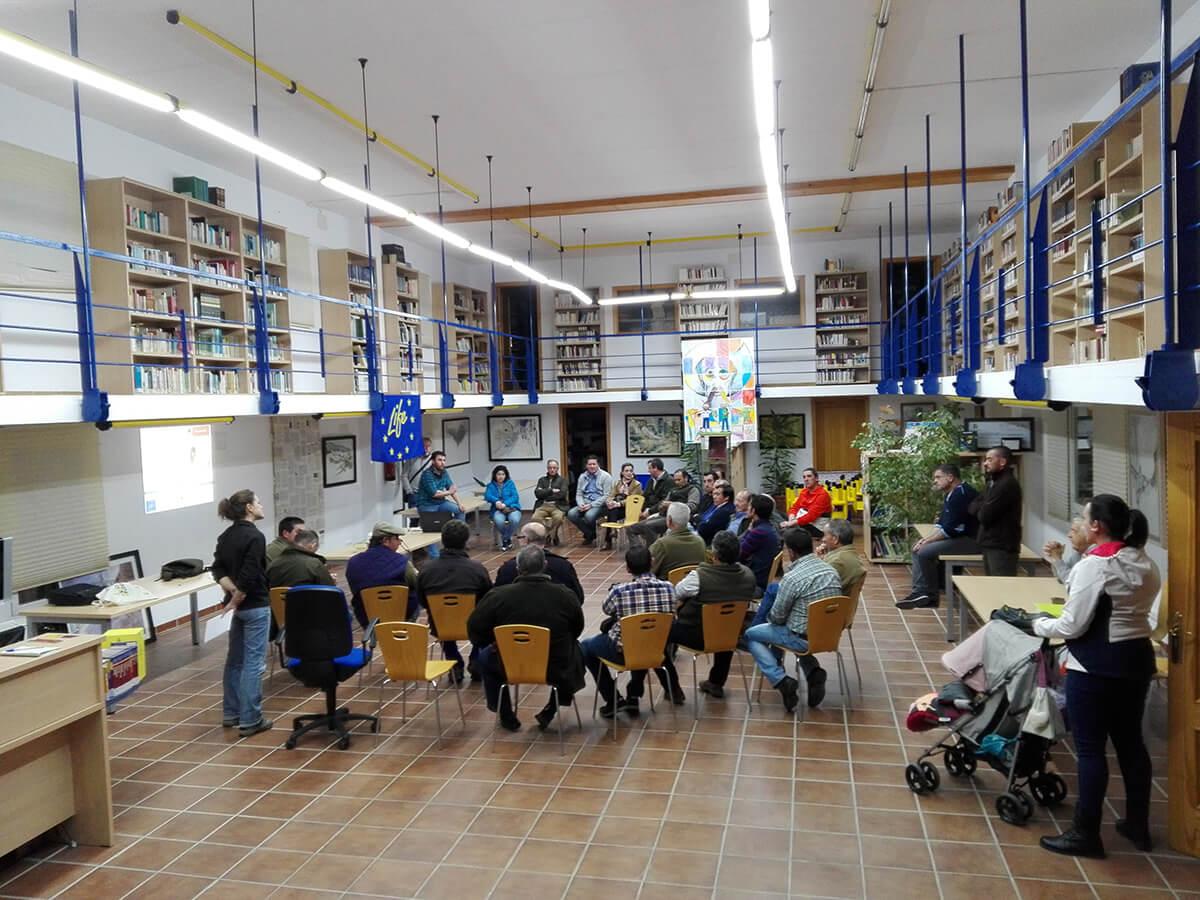 Charla ganaderos Espiel y comarca Guadiato