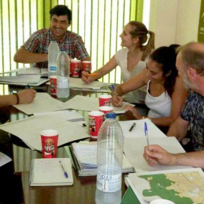 Reunión del LIFE con Parques Naturales de Andújar y Despeñaperros