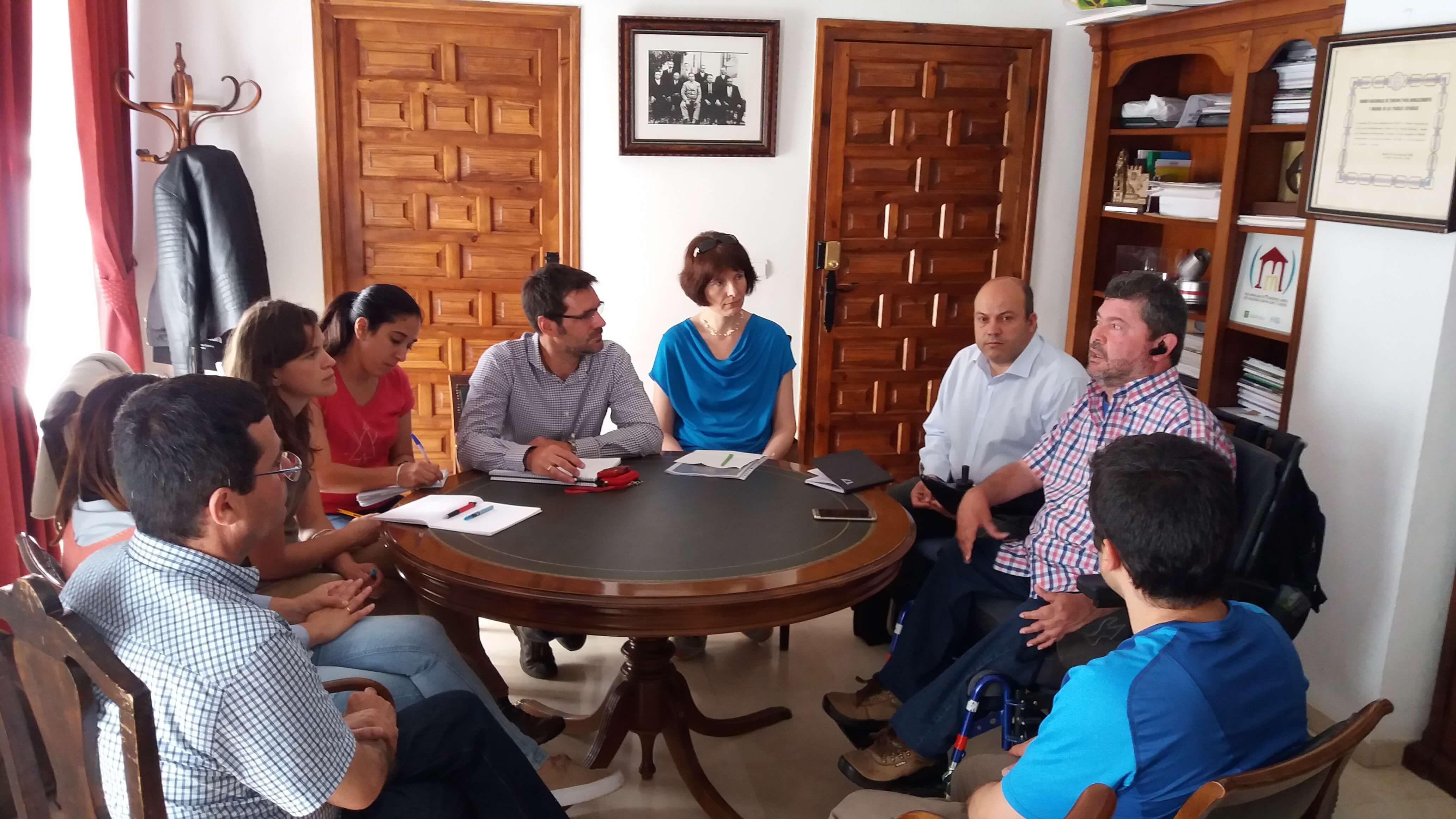 Visita Comisión Europea Ayuntamiento Cardeña