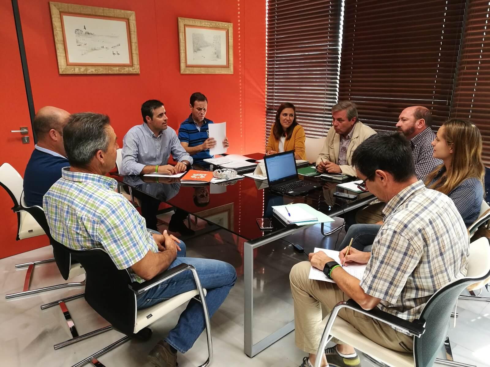 Reunión Organizaciones Agrarias Jaén