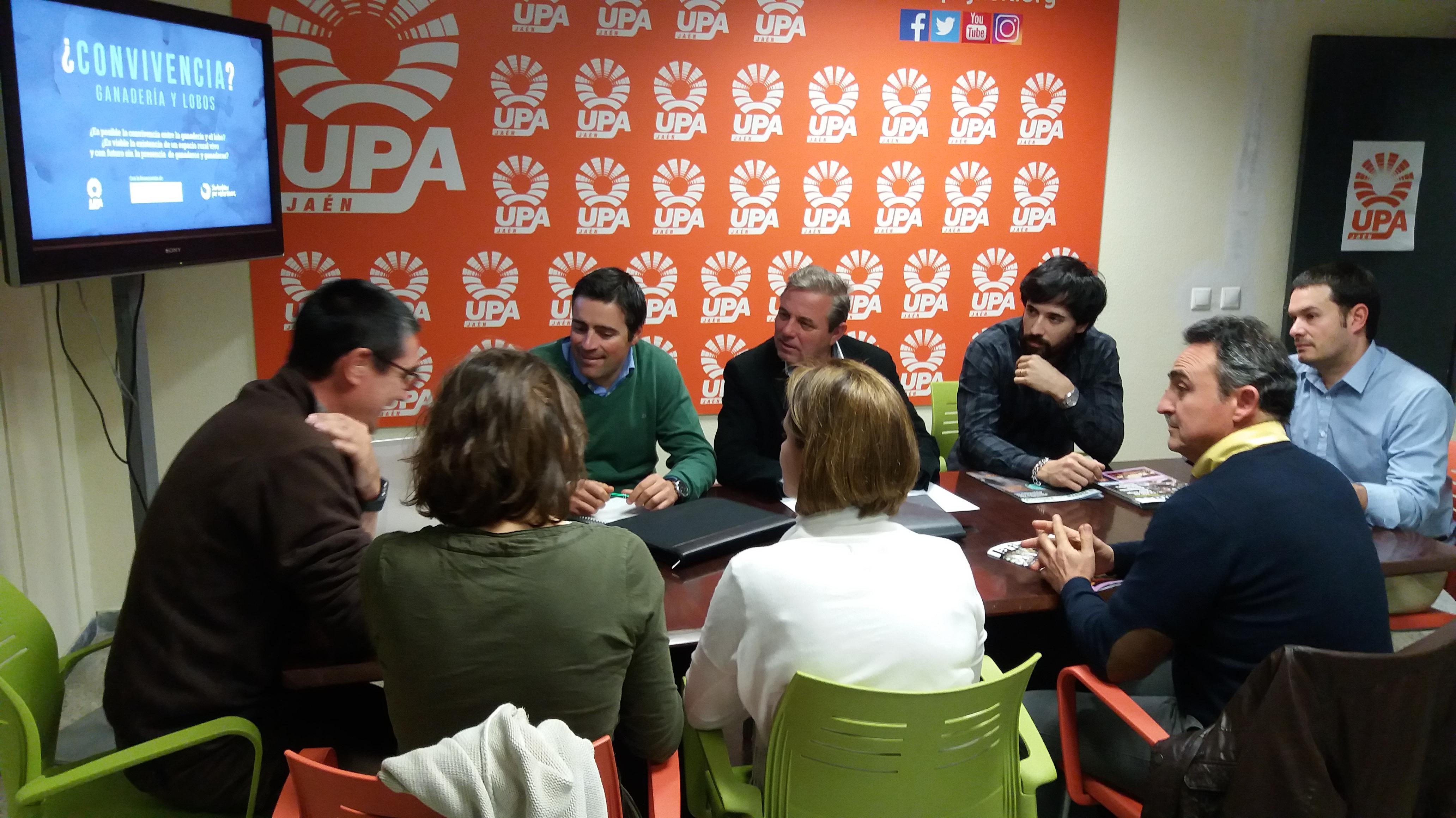 UPA de Jaén colabora con el proyecto Life Lobo Andalucía