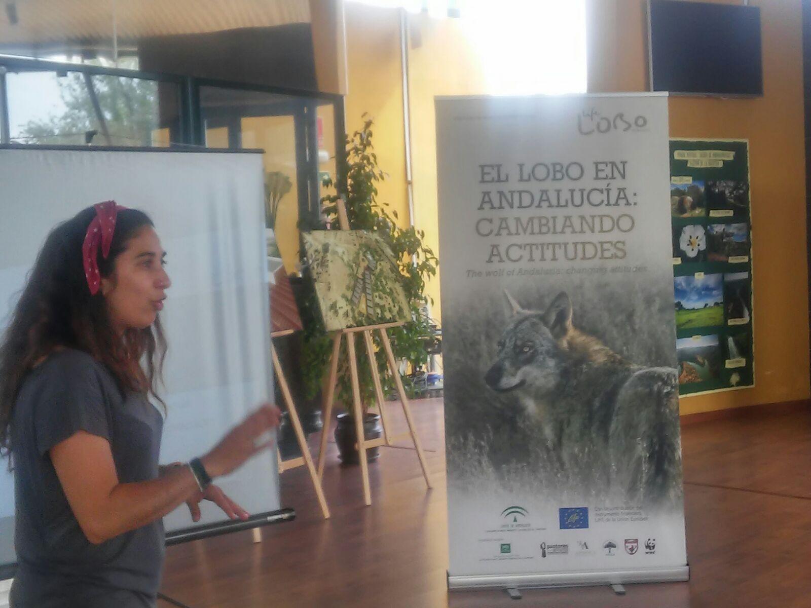 Charla en Hornachuelos, organizada por la Asociación Hornasol