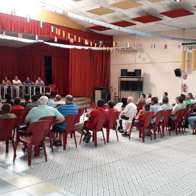 Reunión de técnicos de Life Lobo Andalucía con la asamblea cazadores Sierra Alta