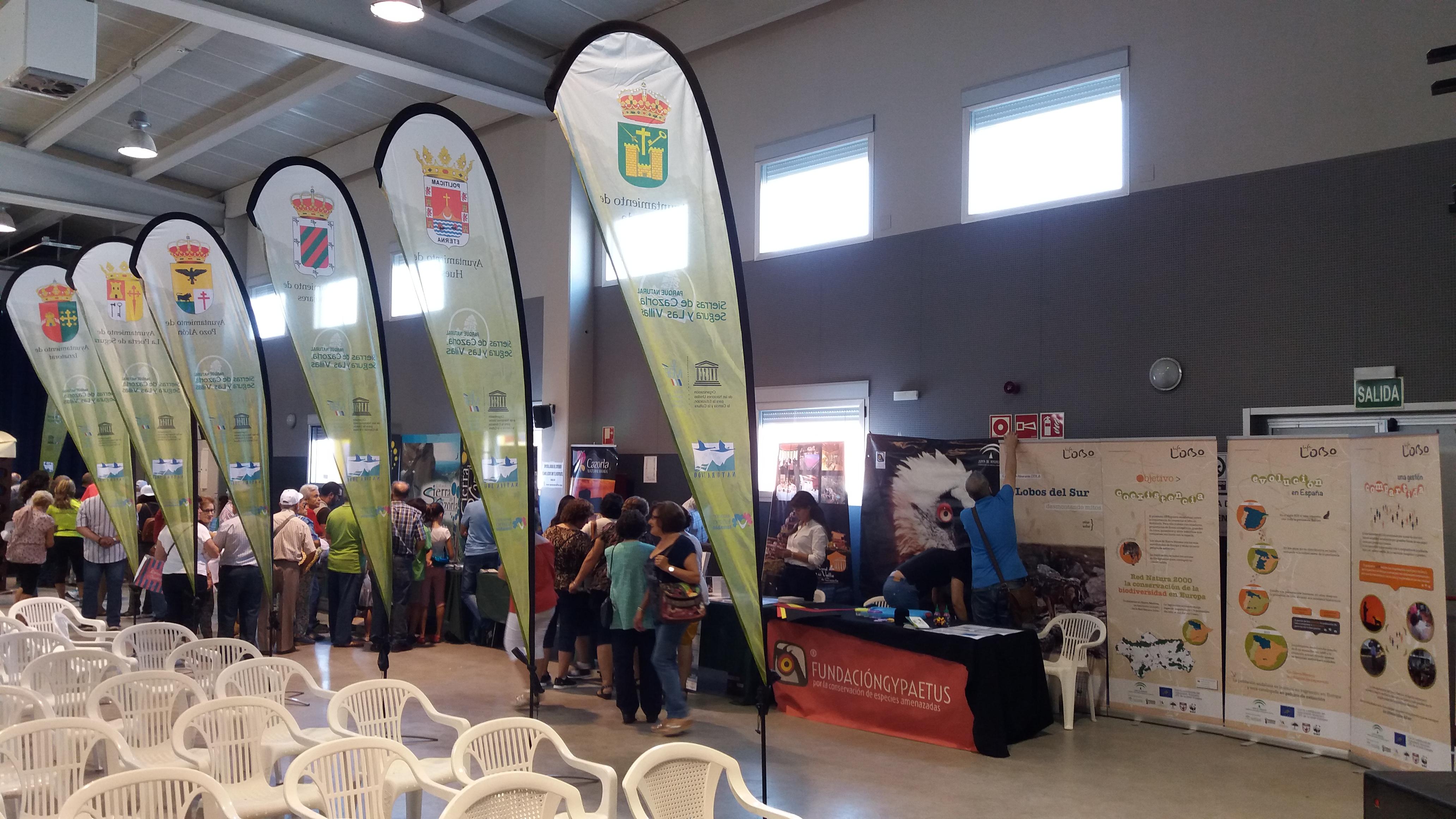 Life Lobo en Feria Turismo Sostenible Pozo Alcón (Jaén)