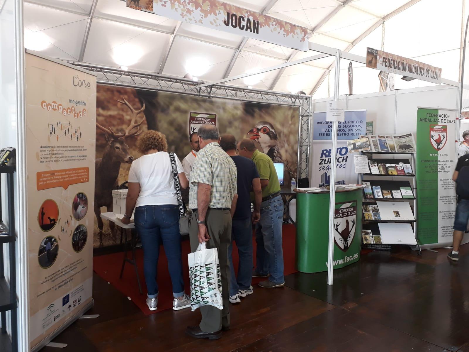 Life Lobo en la Feria Intercaza 2018