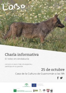 Cartel charla Guarromán