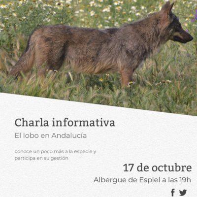 Life Lobo charla informativa Albergue Espiel
