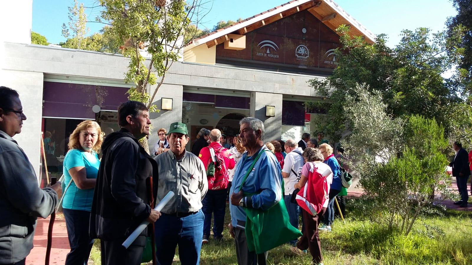 Mayores medio ambiente Andújar