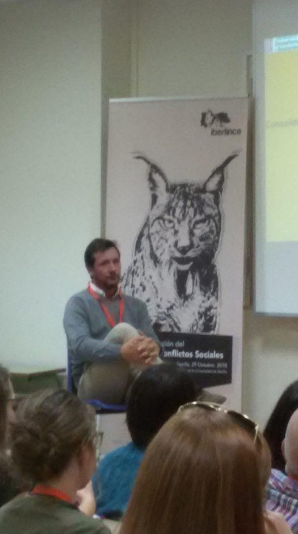 Pedro Torres. Seminario conservación lince