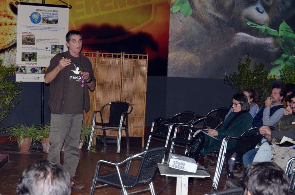 Life Lobo paticipa en actividades Zoobotánico de Jerez