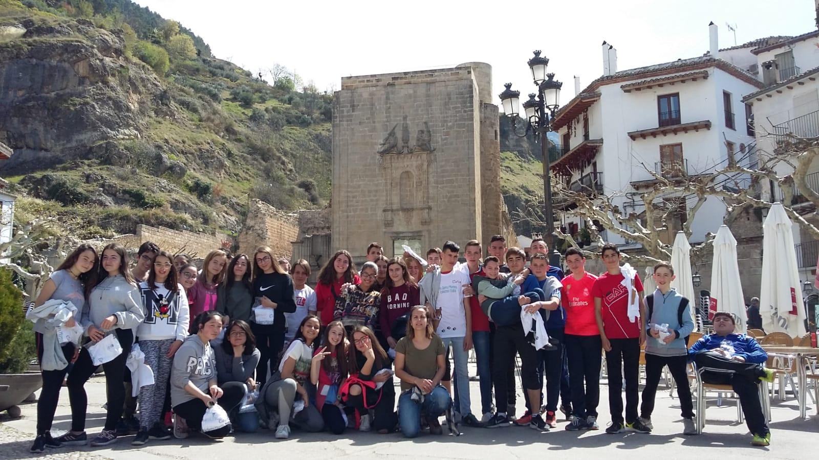 alumnos instituto de la Sierra de Cazorla