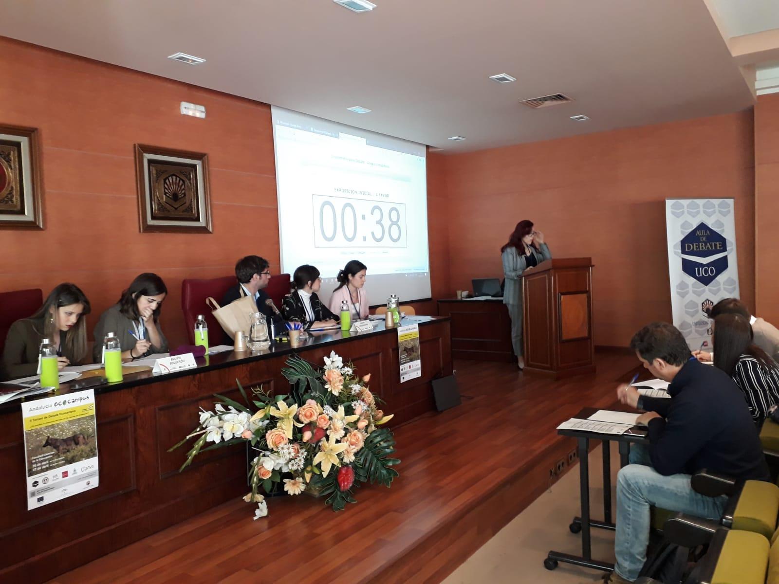 Torneo Debate Ecocampus de la UCO