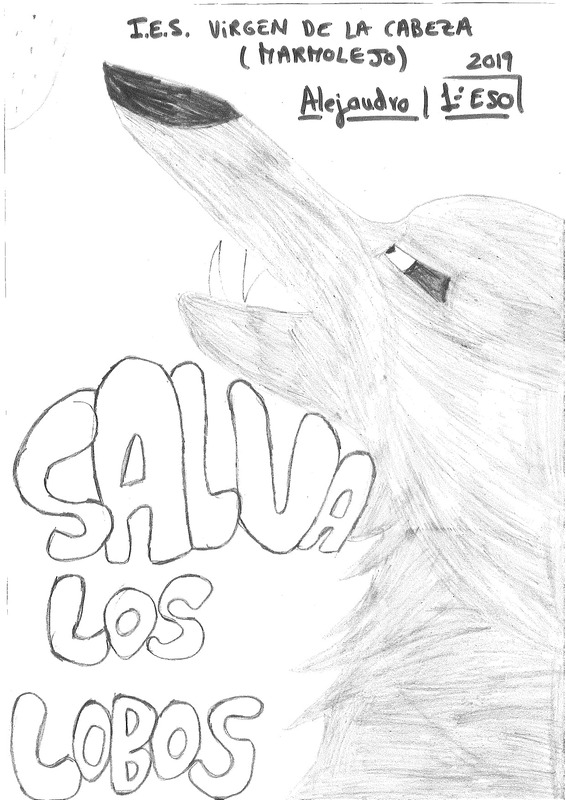 Dibujo Alejandro, alumno IES Virgen de la Cabeza