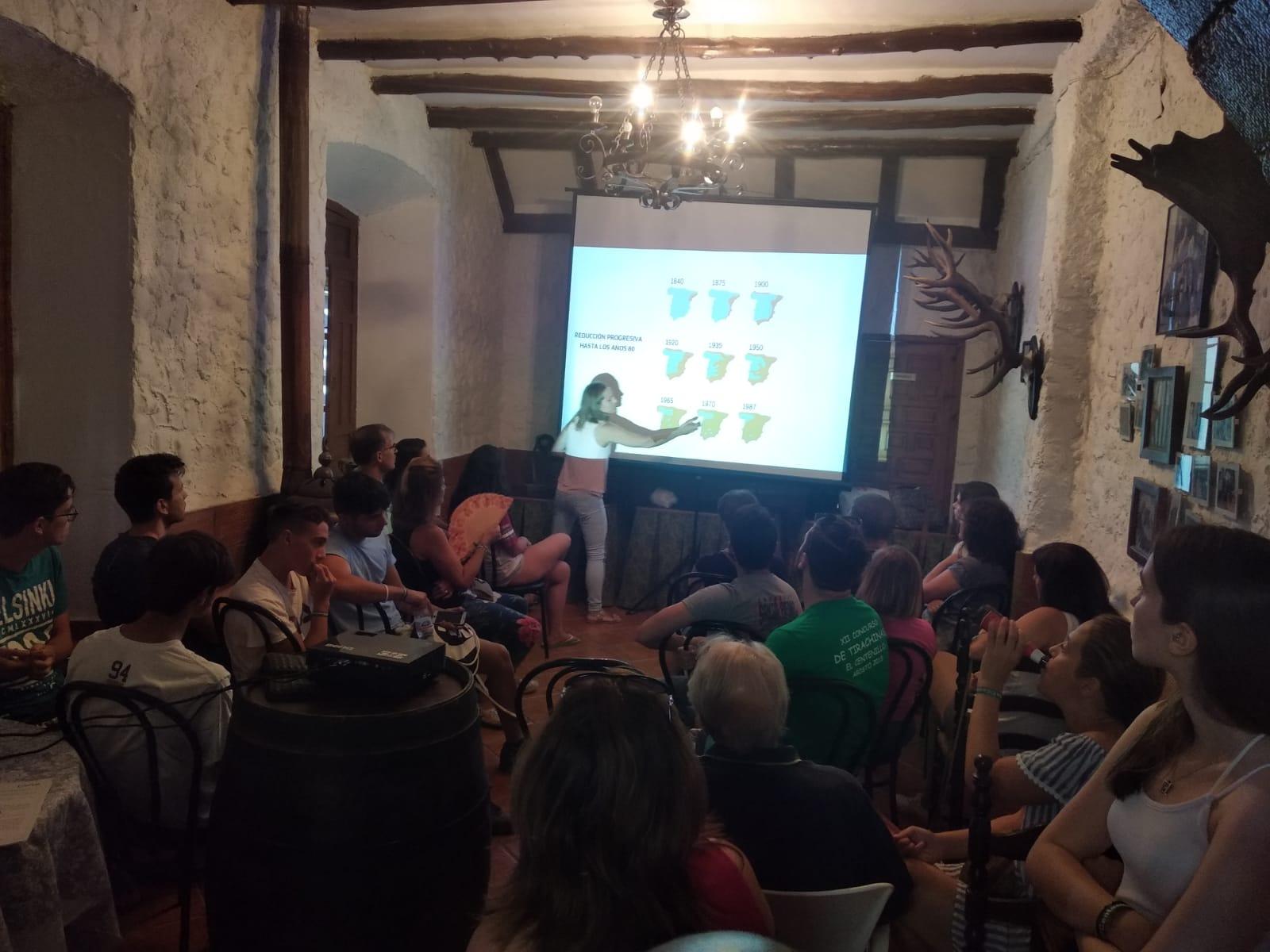Charla El Centenillo (Jaén)