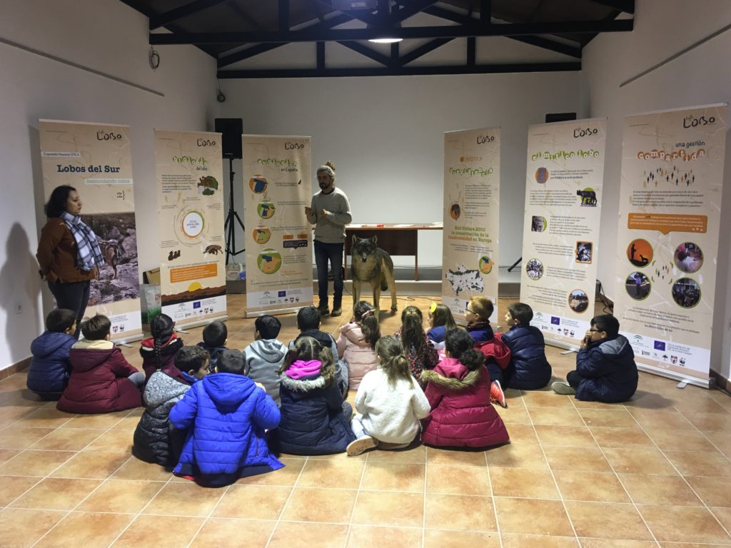 Visita Otila a Villanueva de la Reina