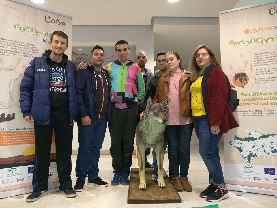 Visita Otila en Andújar